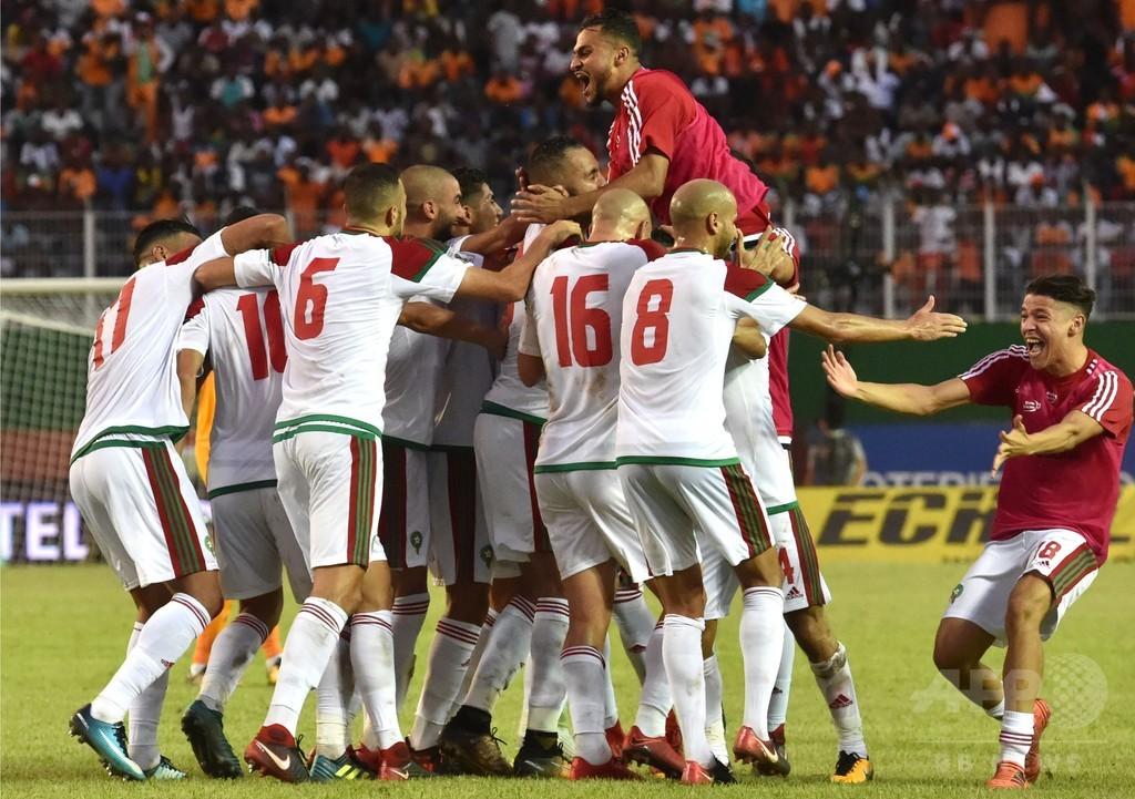 モロッコとチュニジアがロシア行き決める、コートジボワールは敗退