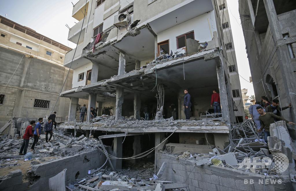 ハマスなどとイスラエルが停戦合意、パレスチナ自治区ガザ地区