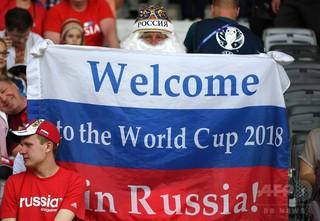 大音量のクラウドノイズでファン同士の罵声かき消す、ロシア