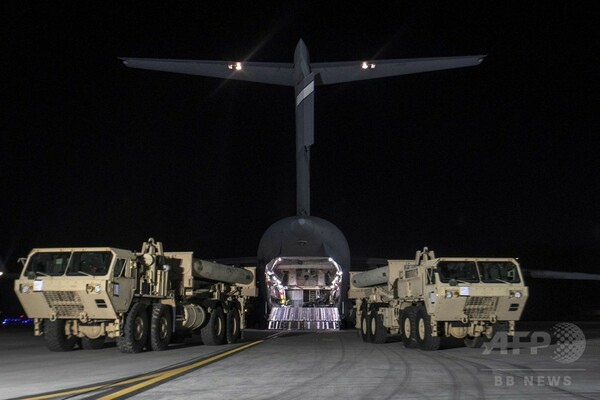 米軍のTHAAD配備に中国反発、安全保障上の利益「断固」守る