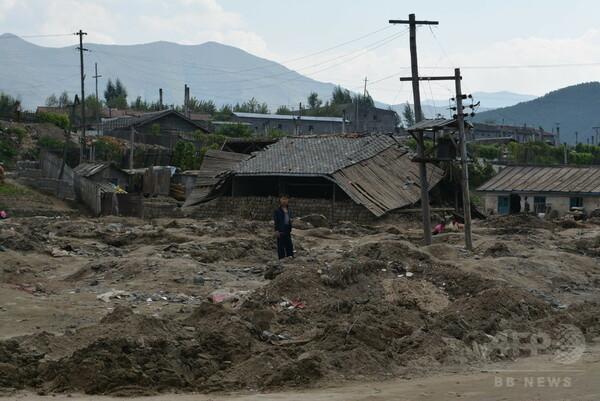 北朝鮮洪水「7万人家失う」=130人死亡、緊急支援訴え-ユニセフ