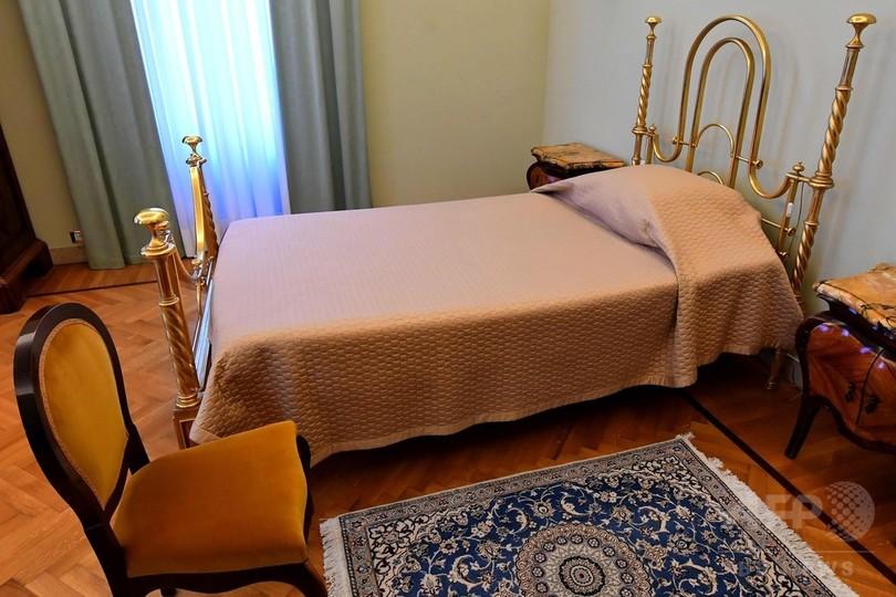 ローマ法王の別荘内部を一般公開、フランシスコ法王が希望