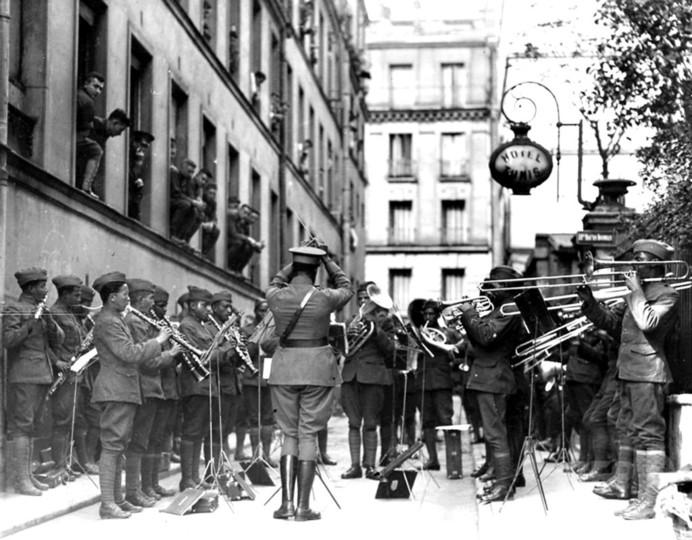欧州初のジャズ演奏会から100年 フランスで記念式典
