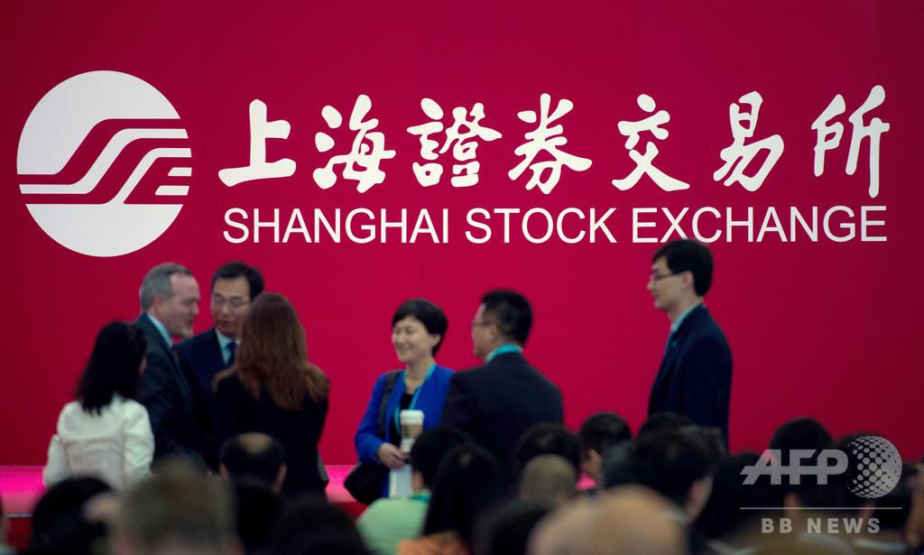 中国株式市場、時価総額で世界2位から陥落 日本が抜く