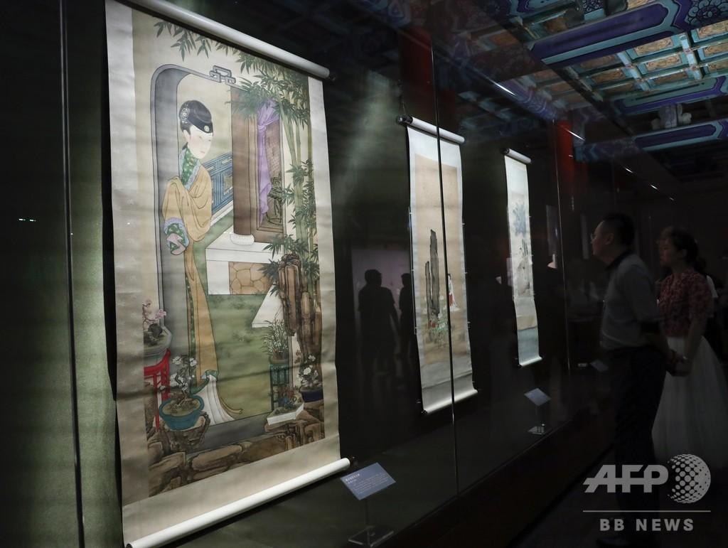 宋・元時代の書画がお目見え 故宮で「古代花木」文化財特別展