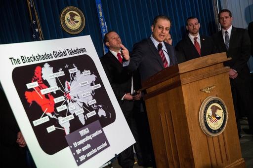 ハッキング国際捜査で100人摘発、感染50万台