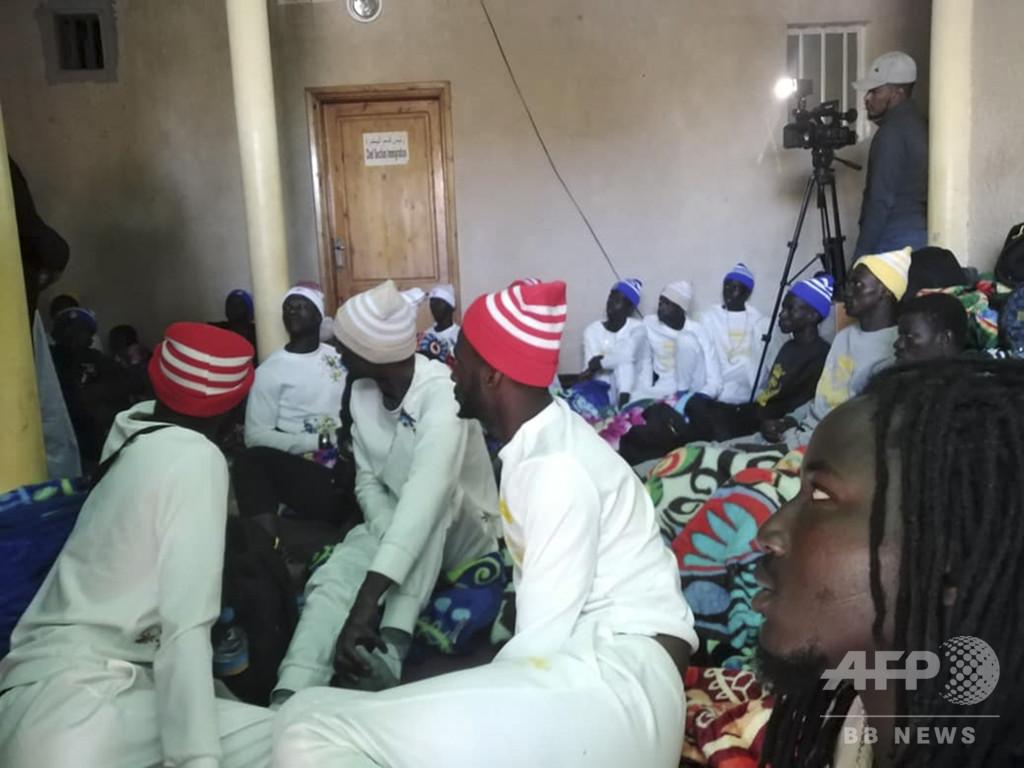 移民船沈没で62人死亡 西アフリカ沖