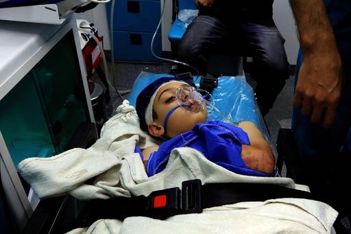 バスで遠足中の児童ら17人死亡 ヨルダンの死海付近で鉄砲水