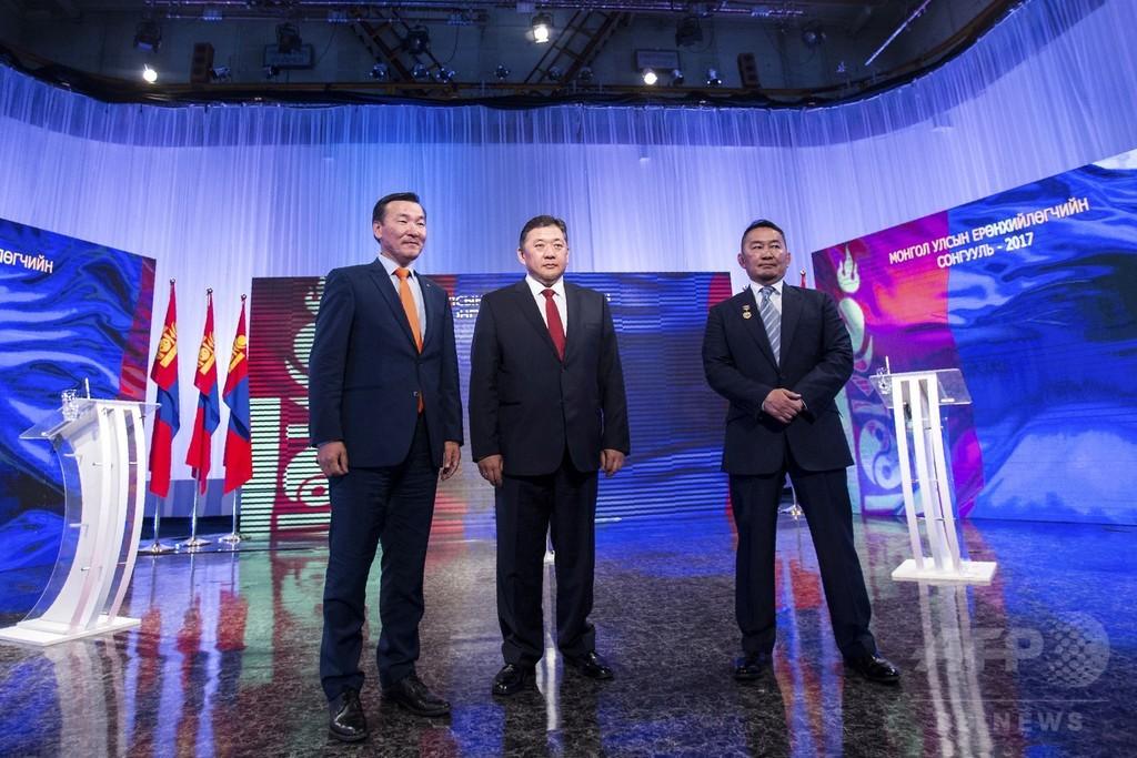 モンゴル大統領選、来月9日に決選投票へ 最大野党候補がトップ