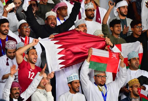 カタールのユニ着た英国人逮捕、UAE開催のアジア杯で 英報道
