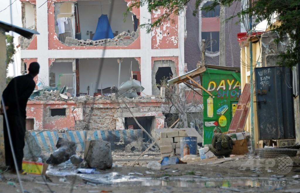 ソマリア首都で過激派がホテル襲撃、12人死亡