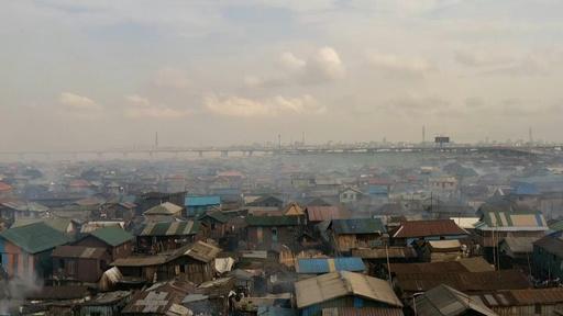 動画:水上のスラム街に住所を! ドローンで地図を共同作成 ナイジェリア