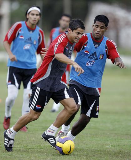 <サッカー 07南米ユース選手権>ベネズエラ エクアドル戦に向け最終調整 - パラグアイ