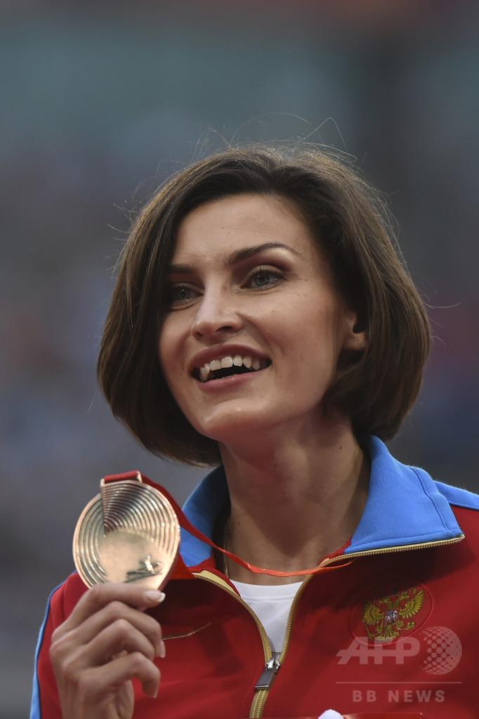 走り高跳び五輪女王チチェロワ、禁止薬物違反で「資格停止」決定