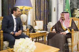 レバノン大統領、「ハリリ首相を拘束している」とサウジを非難
