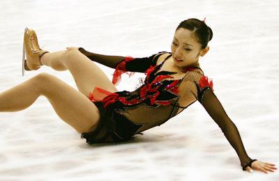 安藤 NHK杯・女子シングルで4位に終わる