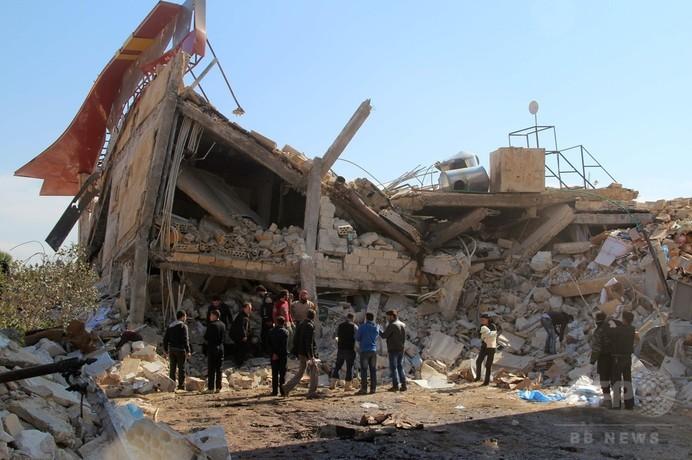 シリア内戦、医療従事者の死者800人超 政府が「戦争犯罪」