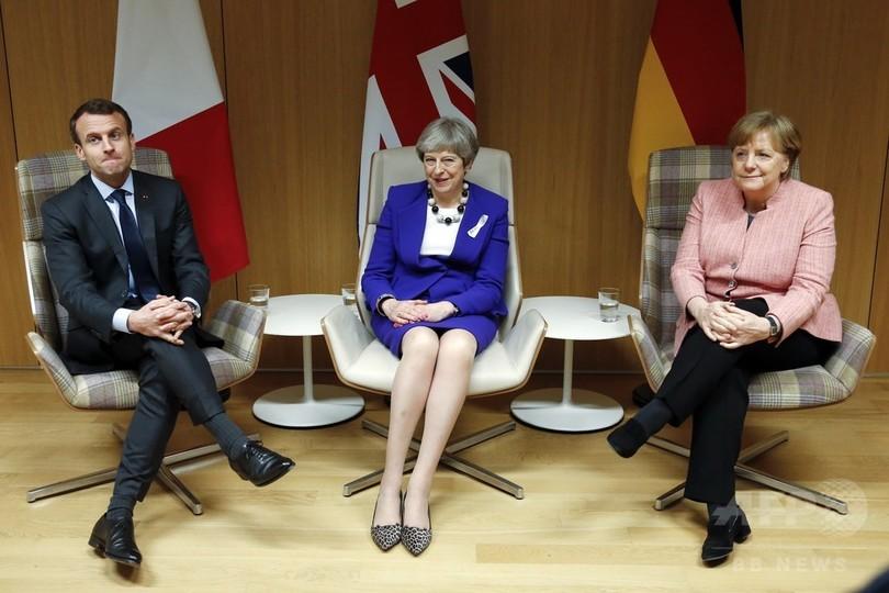 イラン核合意、仏独英は引き続き履行 EU「守る決意」