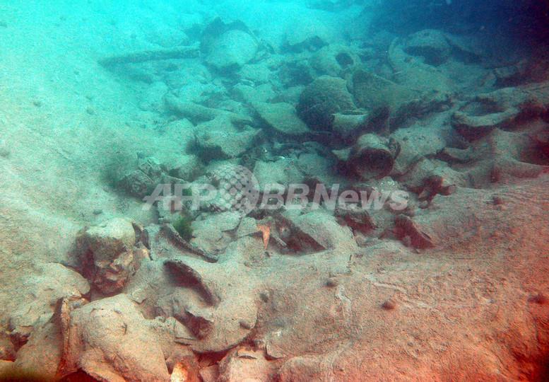 イリュリア人の海賊船が発見され...