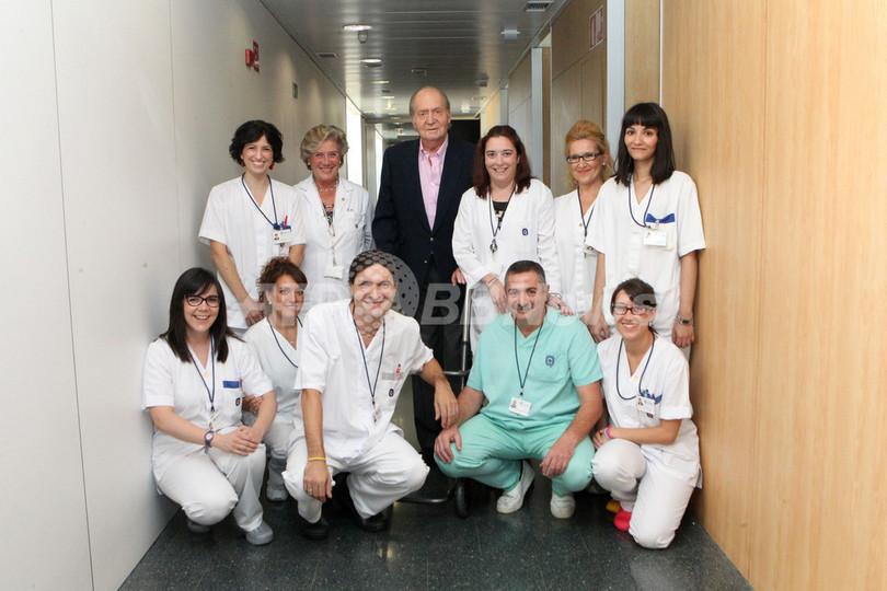 人工股関節で炎症のスペイン国王が退院
