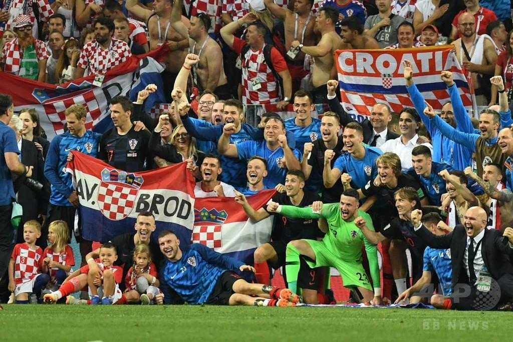 クロアチアのW杯決勝進出、近隣諸国で分かれる評価