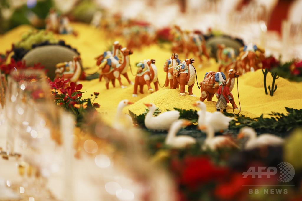 中国「一帯一路」サミット開催、称賛と懸念の声入り交じる
