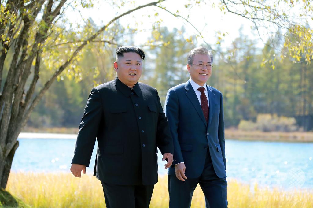 金委員長、新型ウイルス流行の韓国に「見舞い」の親書