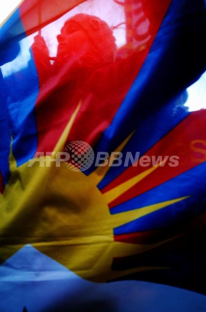 中国、チェコ教育省の訪中を取り消し、チベット旗に不快感