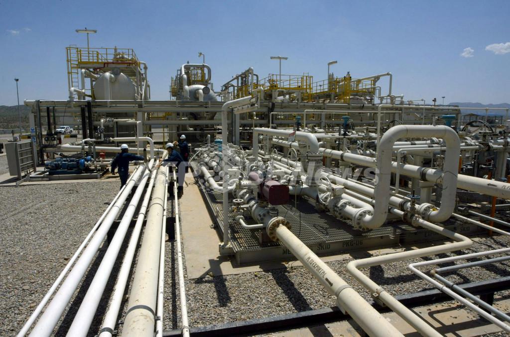 北海原油が100ドル突破、エジプト情勢緊迫化で