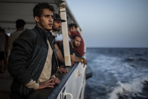地中海で今年死亡した移民1000人超える、マルタではまた救助船抑留