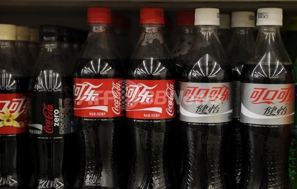 中国コカコーラ工場に操業停止命令、製品から塩素検出か