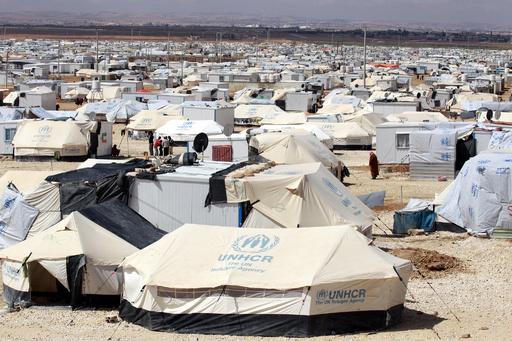 ヨルダン、シリア国境近くで無人機撃墜 難民キャンプ上空を飛行