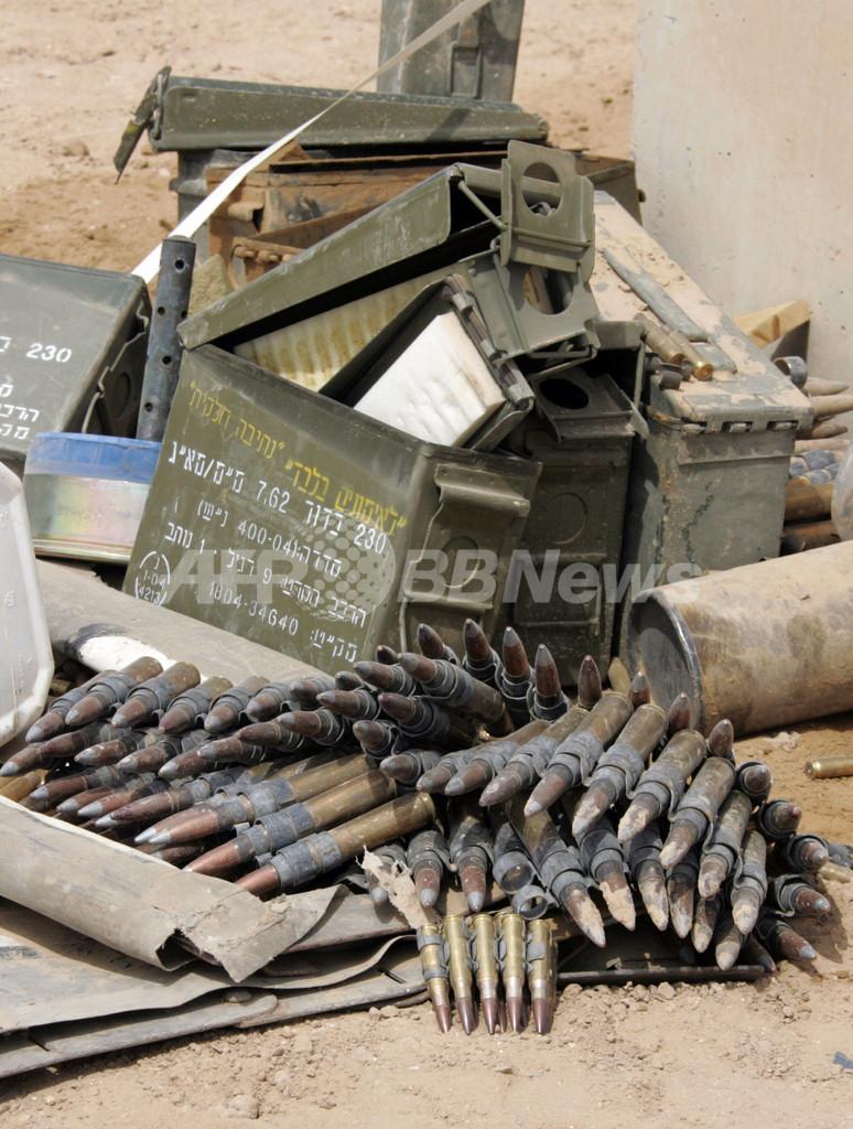 パレスチナ武装組織が停戦案に合意、仲介役エジプトがイスラエルに提示へ