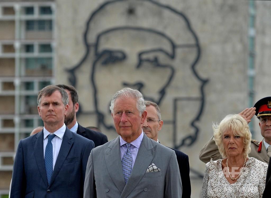 チャールズ皇太子夫妻、キューバ訪問 英王室史上初