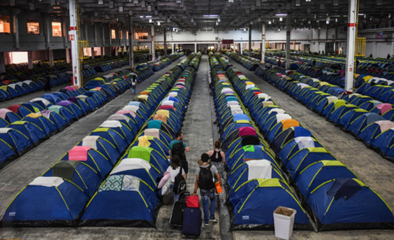【今日の1枚】アイデアはテントの数より多い ブラジル