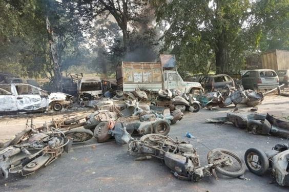 「聖なる」牛の死めぐり400人が暴動、2人死亡 インド