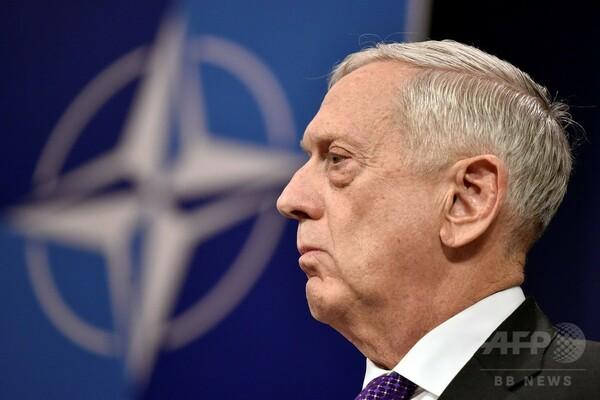 米軍のシリア空爆でロシア人死亡か、米国防長官「調査で明らかにする」