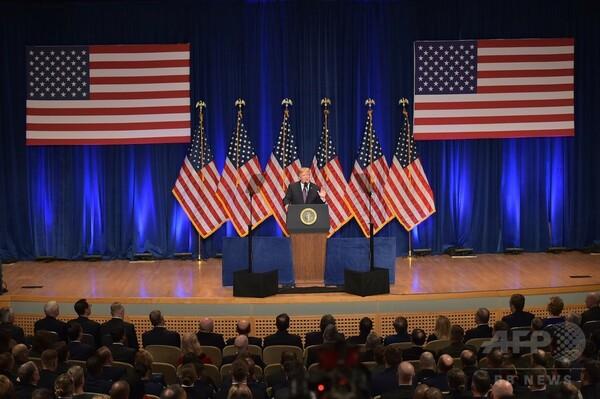 トランプ氏「米国第一」の新安保戦略 中ロに強硬姿勢