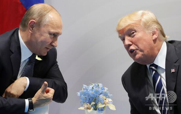 ロシア、トランプ氏の米ロ首脳会談中止決定は「遺憾」