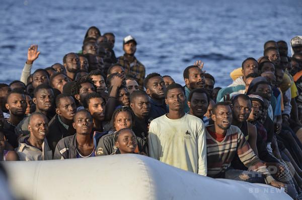 2016年に地中海で死亡した移民・難民が5000人に、国連