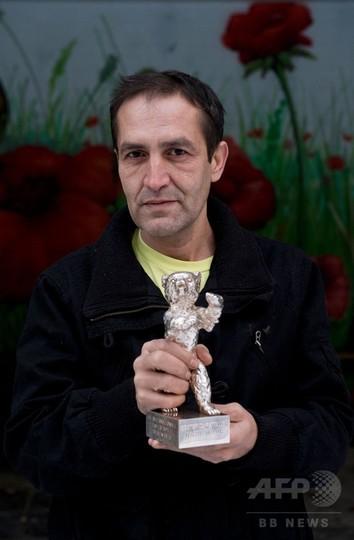 ベルリン映画祭で受賞のロマ男性死去 ボスニア、極貧にあえぐ