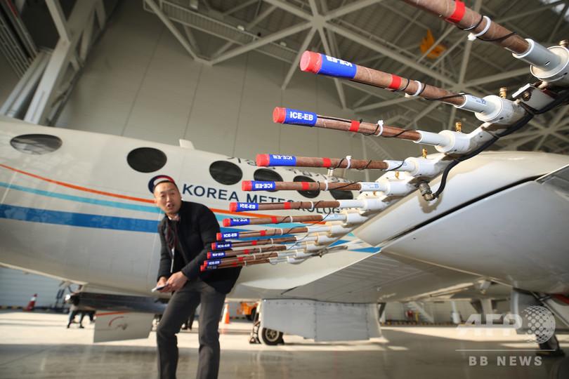 「中国原因」の大気汚染と空中戦、韓国が黄海上で人工降雨実験