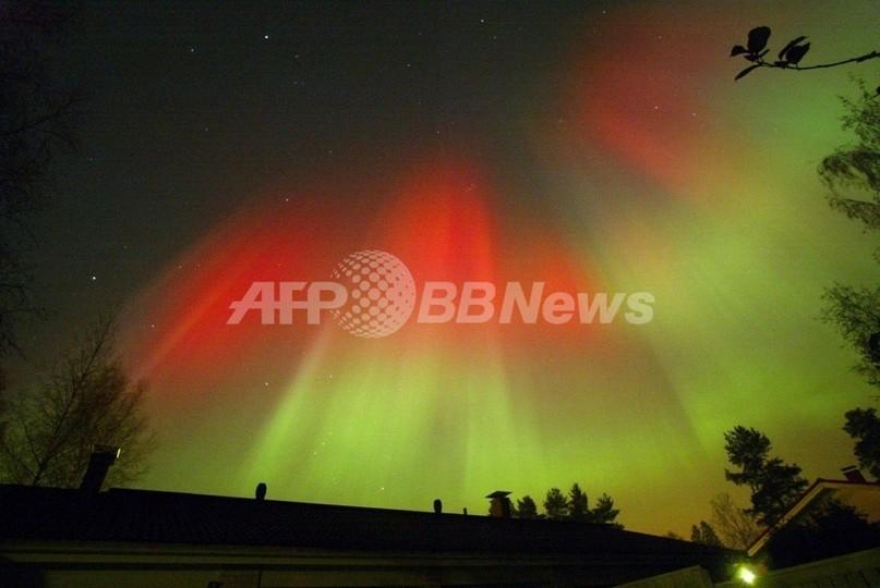 オーロラが100年ぶりの減少、フィンランド気象庁