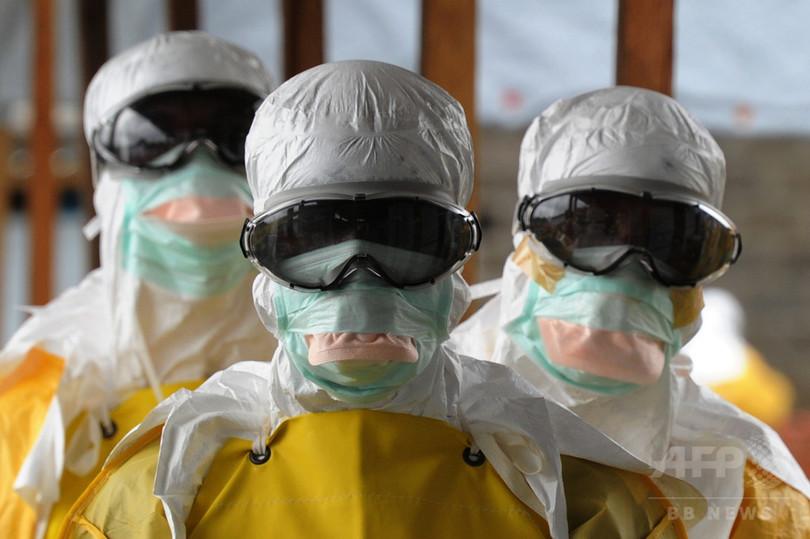 リベリアのエボラ再発、元患者が感染源か WHO