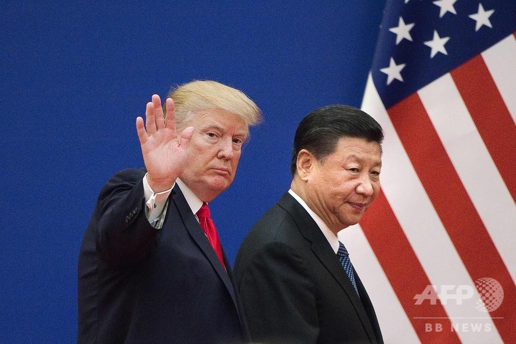 米「ウイグル人権法」成立、中国当局者の資産凍結や渡航禁止
