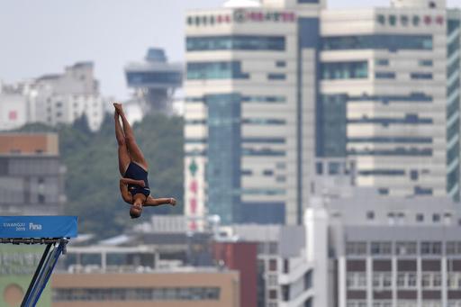 【写真特集】AFPが選んだ世界水泳韓国大会の「TOPSHOT」