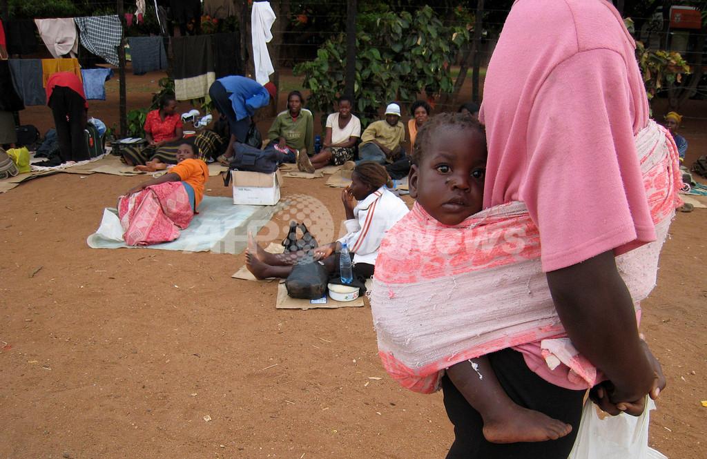 ジンバブエ、コレラによる死者1000人超える 国連