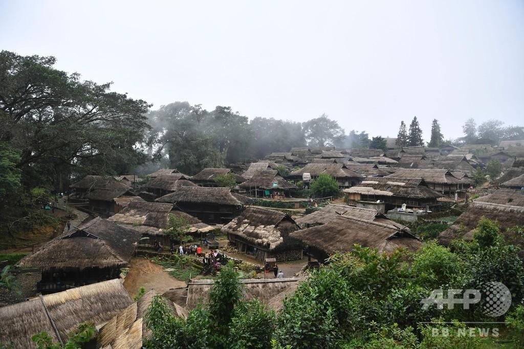 「雲と霧が立ち昇る場所」 雲南省の古村