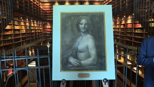動画:「裸のモナリザ」、ダビンチ本人作の可能性濃厚 ルーブル専門家らが検証