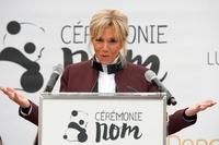 仏で赤ちゃんパンダの命名式、大統領夫人も出席